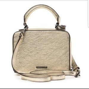 NWT Rebecca Minkoff leather box crossbody bag